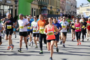 Runners in the 5k